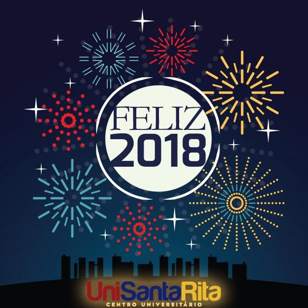 O Centro Universitário Santa Rita deseja a todos um Feliz Ano Novo!