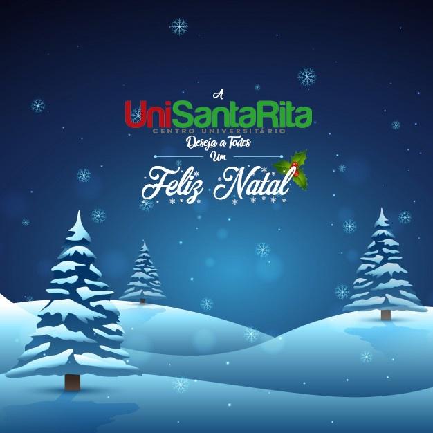 O Centro Universitário Santa Rita deseja a todos um Feliz Natal!