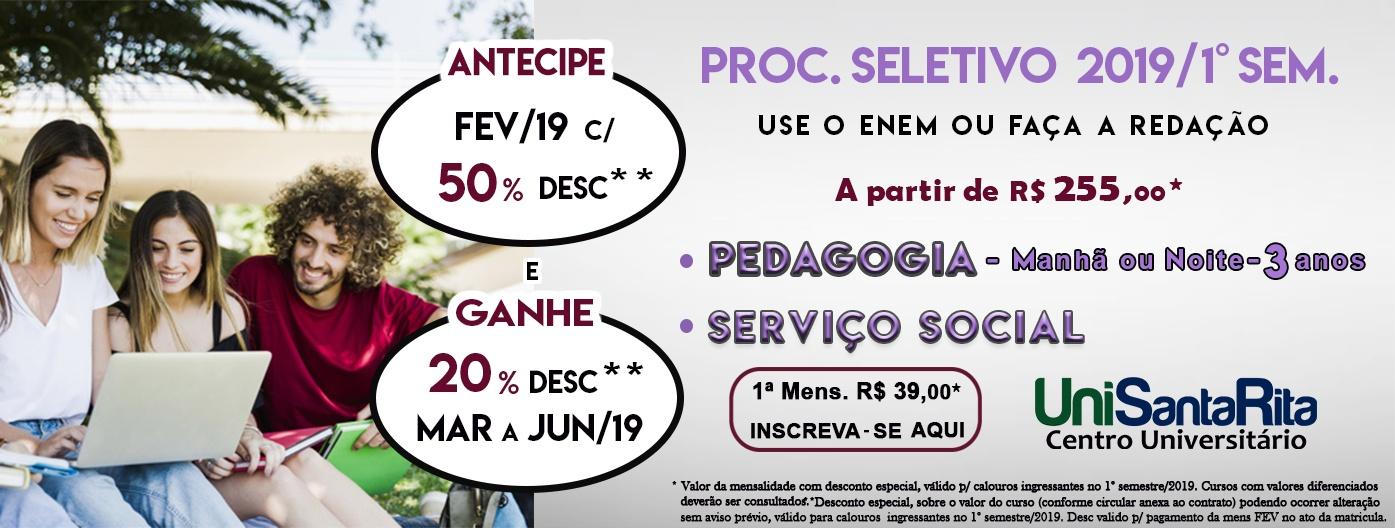 Processo Seletivo Pedagogia/Serv.Social