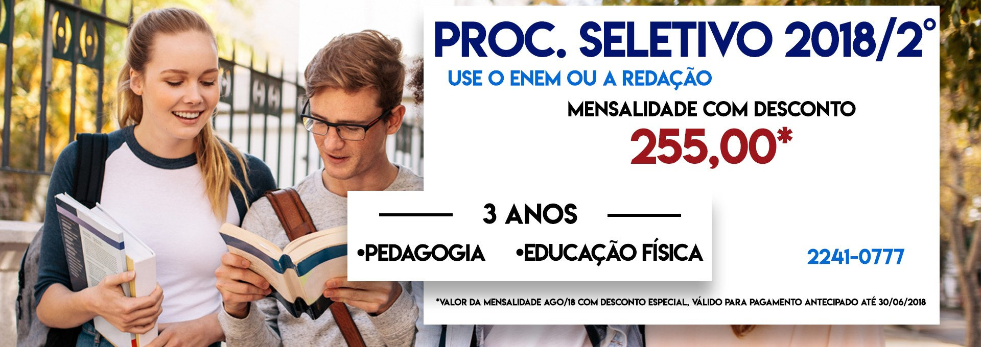 Processo Seletivo Pedagogia/ED. Física