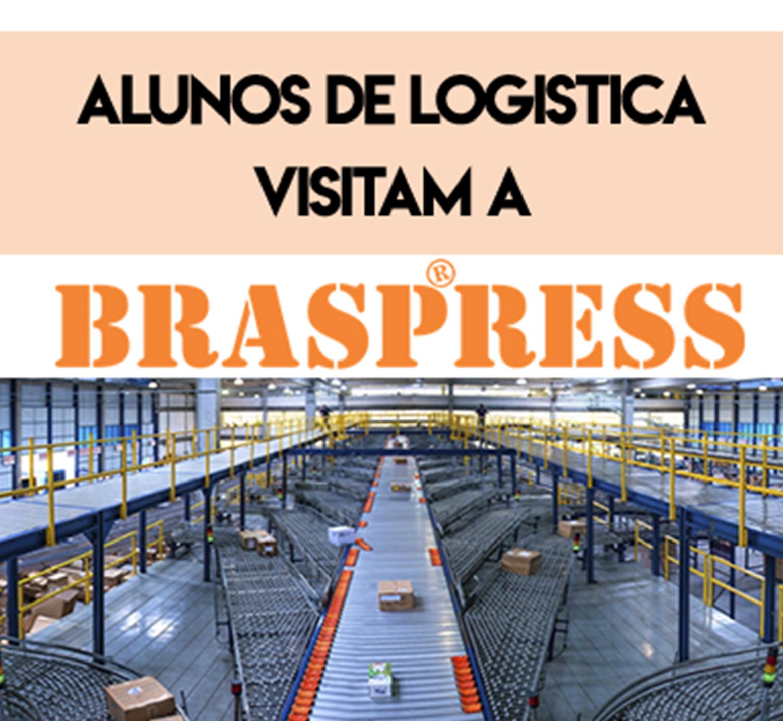 Visita dos Alunos de Logística na Empresa Braspress