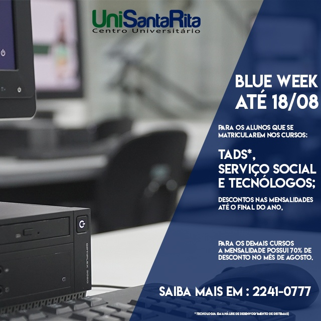 BLUE WEEK UNISANTARITA!