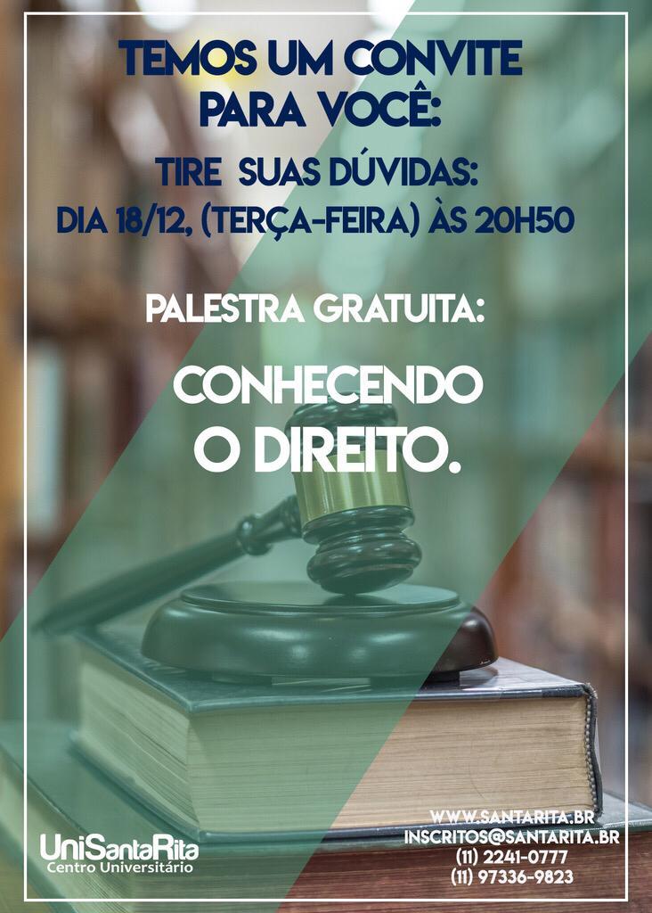 Palestra de Direito