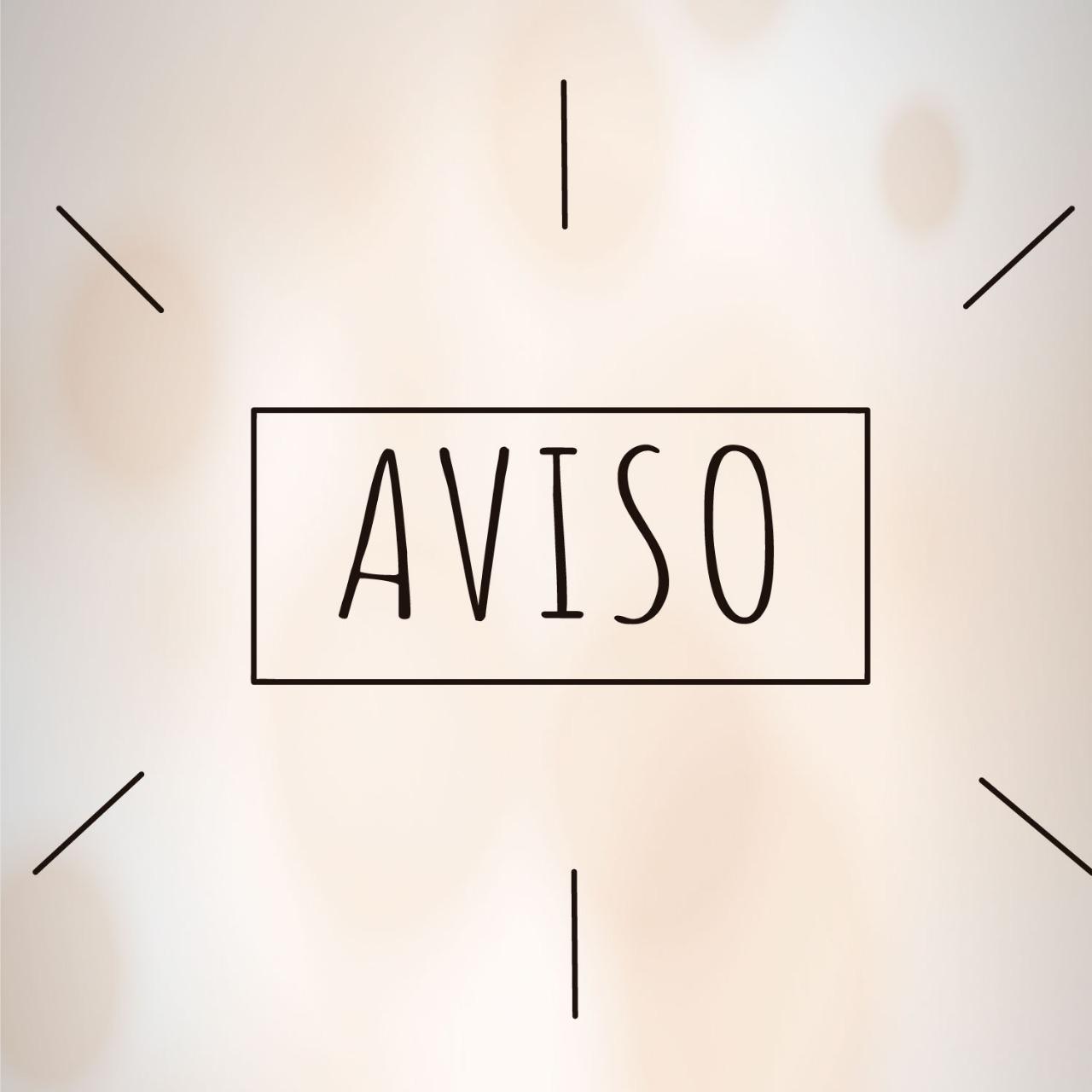 COMUNICADO OFICIAL AOS ALUNOS E ALUNAS
