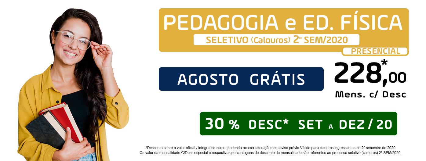 PEDAGOGIA E ED FÍSICA
